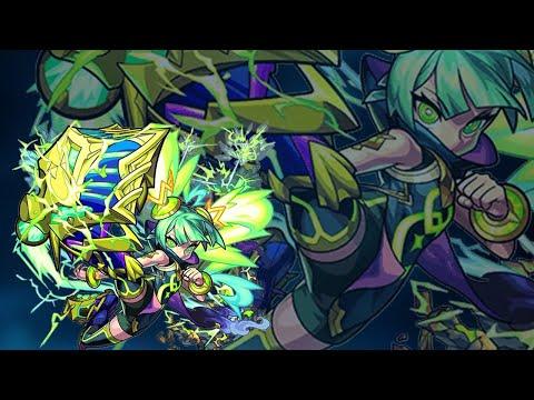 【モンストLIVE】『ミョルニル(獣神化)』使って遊ぶ!【よーくろGames】